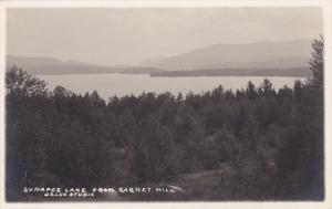RP, Sunapee Lake From Garnet Hill, SUNAPEE LAKE (Merrimack), New Hampshire, 1...