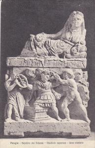 PERUGIA, Sepolcro dei Volumni, Vestibolo superiore, Urna cineraria, Umbria, I...