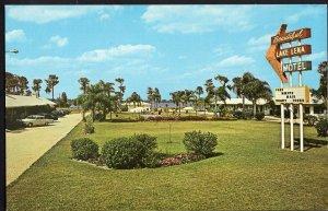 Florida AUBURNDALE Lake Lena Motel, US Hwy 92 - 1950s-1970s
