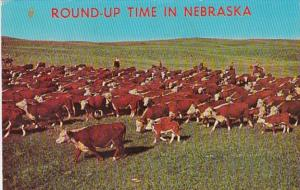 Nebraska Greetings With Round Up Time 1974