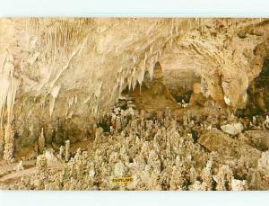Vintage Post Card Caves Fairyland carlsbad Caverns National Park  N M   # 4236