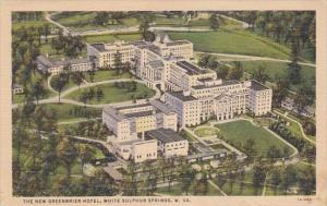 West Virginia White Sulphur Springs The New Greenbrier Hotel