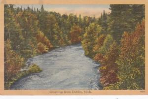 Michigan Greetings From Dublin 1944