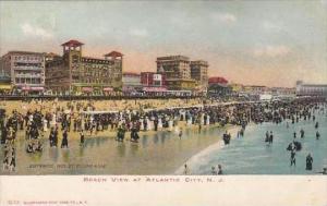 New Jersey Atlantic City Beach View At Atlantic City