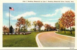 Nebraska Omaha John J Pershing Memorial On John J Pershing Memorial Drive Cur...