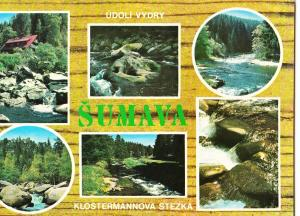 Czech Republic, SUMAVA - POVYDRI, used Postcard