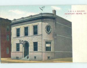 Divided-Back BUILDING SCENE Newport News Virginia VA H7046