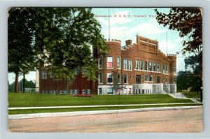 Ypsilanti MI-Michigan, State Normal College, Gymnasium, Vintage c1909 Postcard