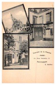 Paris   Pension Pantheon 21 Rue valette