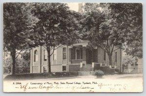 Ypsilanti Michigan~State Normal College Campus~Covservatory of Music~1905 B&W PC