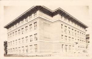 Cedar Falls Iowa~Teachers Training School~Real Photo Postcard 1914