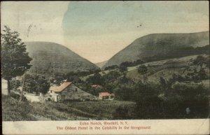 Westkill NY Echo Notch c1910 Postcard