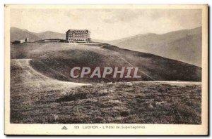 Luchon Old Postcard L & # 39hotel Superbagneres