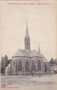 ECLARON Braucourt Sainte Liviere, Haute Marne, France; L'Eglise St. Laurent, ...