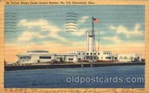 United States Coast Guard Station No 219 Cleveland, Ohio, USA Postcard Post C...