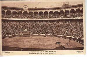 Spain - Interior of Bull Fighting Arena  1932 RP