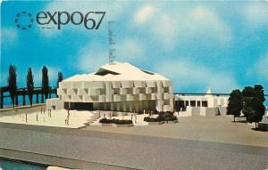 Montreal Canada~World's Fair~Expo 67~Pavilion Of Israel~Jewish History~1967 PC