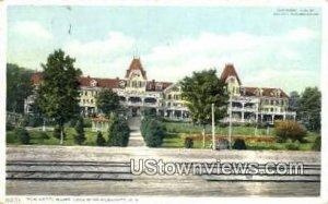 Hotel Weirs in Lake Winnipesaukee, New Hampshire