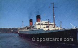 SS Ile De France Steamer, Steam Boat, Ship Ships, Postcard Postcards  SS Ile ...