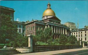 State Capitol Building Boston Massachusetts