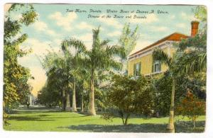 Winter Home of Thomas A. Edison, Glimpse of the House and Grounds, Fort Myers...
