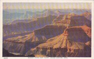 Arizona Grand Canyon Sunset From Hopi Point