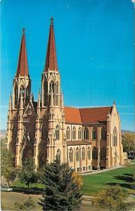 Helena Montana~Gothic Revival St. Helena Roman Catholic Cathedral~1969