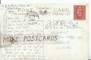 Genealogy Postcard - Blackburn - Newton Nottage Rd - Porthcawl - Wales Ref 8904A