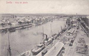 SEVILLA , Spain , 00-10s : Vista del Muelle
