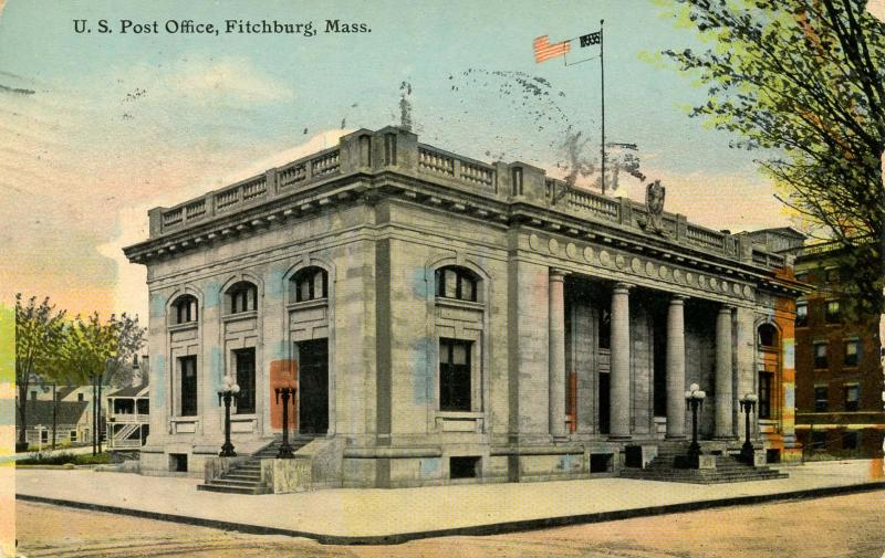 MA - Fitchburg. U.S. Post Office