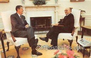 President Reagan, Prime Minister menarche Begin Unused