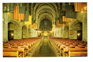 Interior Cadet Chapel,  Military Academy, West Point, New York