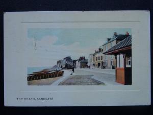 Kent Folkestone SANDGATE The Beach c1911 Postcard by Eustace Watkins