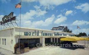 Hallandale, Florida USA World Famous Hofbrau Haus Old Vintage Antique Postcar...