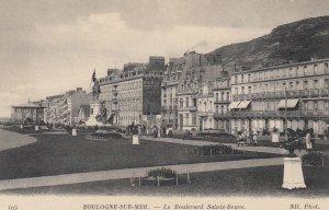 BOULOGNE SUR MER , France , 00-10s ; Le Boulevard Sainte-Beuve