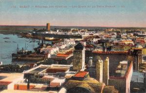 Morocco Rabat Medersa des Oudaias Les Quais et La Tour Hassan