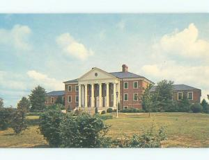 Unused Pre-1980 TRIGG HALL AT MARYLAND STATE COLLEGE Princess Anne MD Q2920@