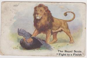 THE ROYAL SCOTS FIGHT TO A FINISH