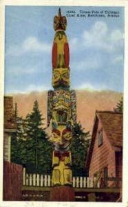 Totem Pole of Thlinget