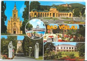 Austria, BAD VOSLAU, used Postcard