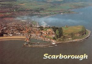 Postcard Scarborough, Aerial View, North Yorkshire #715