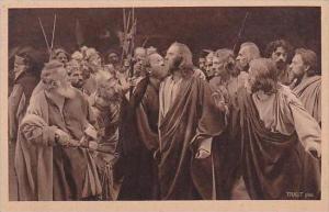 Germany Oberammergau Spiele 1922 Nr 45 Judas verraet den Maister