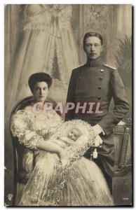 Old Postcard Royal Family