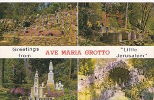 Alabama Cullman Greetings From Ave Maria Grotto Little Jerusalem