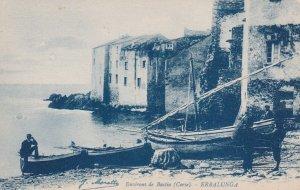 ERBALUNGA , France , 1900-10s ; Fishermen , Environs de Bastia (Corse)