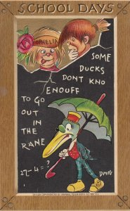 TUCK ; Duck with umbrella by DWIG , 00-10s
