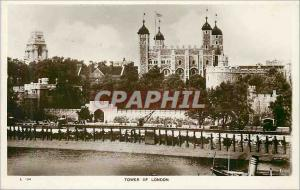 Old Postcard Tower of London