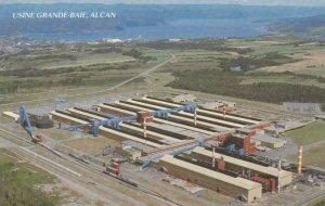 USINE GRANDE-BAIE , ALCAN , Quebec, 50-60s