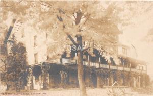 B57/ Easton Pennsylvania Pa Real Photo RPPC Postcard c1910 Easton Sanitarium