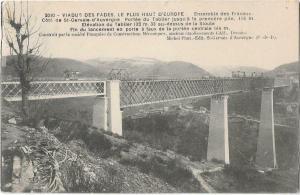 France Viaduc des Fades Le Plus haut D'Europe 01.23